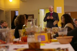 Our Bishop Joins Us For Coffee Hour During His Annual Visit