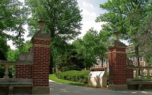 The Normal Street Entrance to Truman State University's Quad