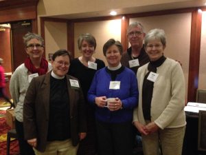 Delegates and Clergy at Diocesan Convention