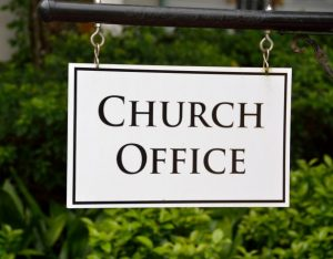 church-office-sign